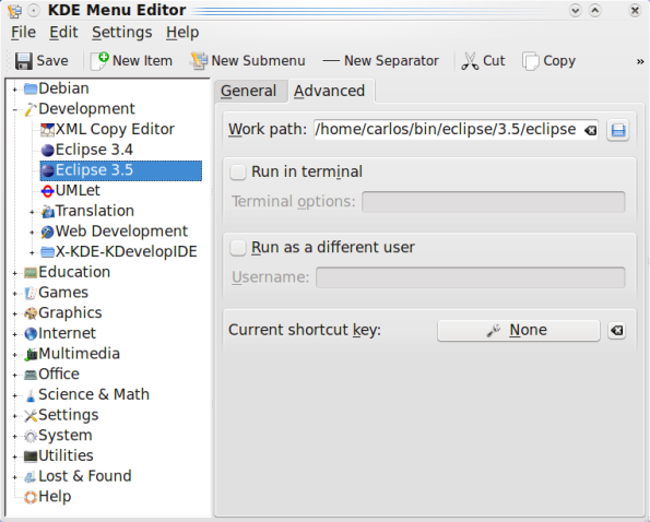 kdw-menu-editor-eclipse-3.5